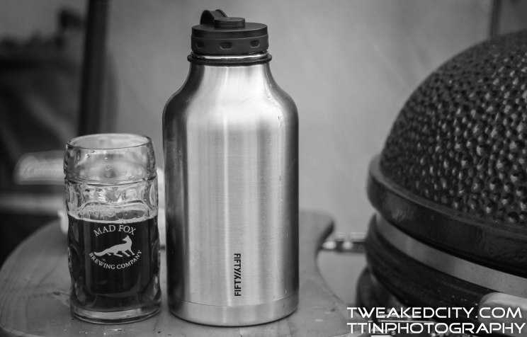 He got this growler from Amazon!! :)